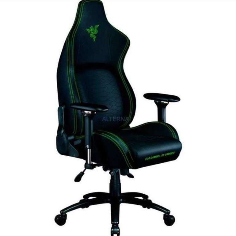 Razer Gaming-Stuhl Iskur (Verstellbare ergonomische Lordosenstütze) für 389€ inkl. Versand (statt 499€)
