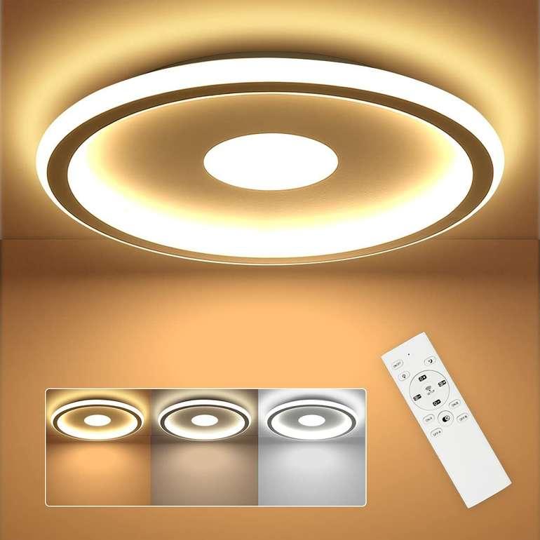 Shilook 24W LED Deckenleuchte mit Fernbedienung für 33,59€ inkl. Versand (statt 48€)