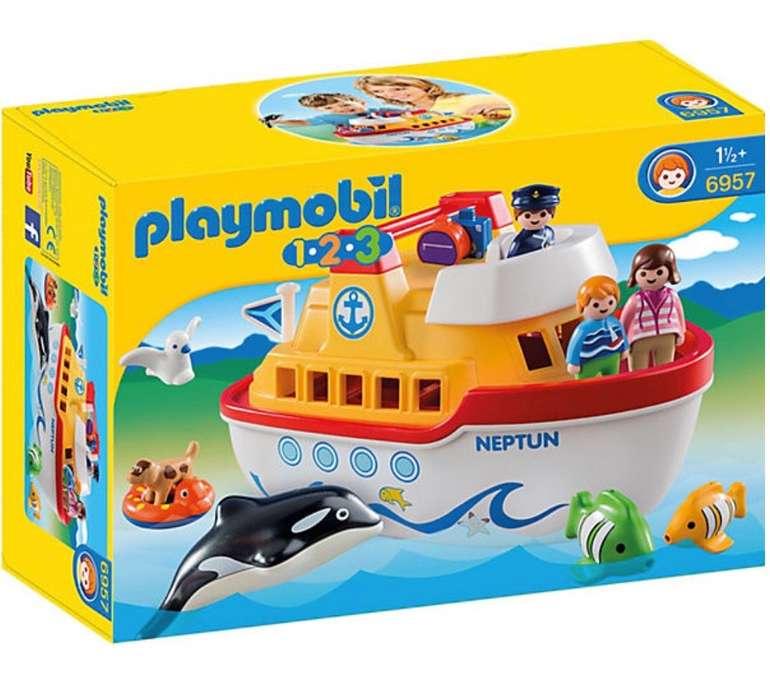 Playmobil 1-2-3: Mein Schiff zum Mitnehmen (6957) für 22,94€ (Vergleich: 30€)