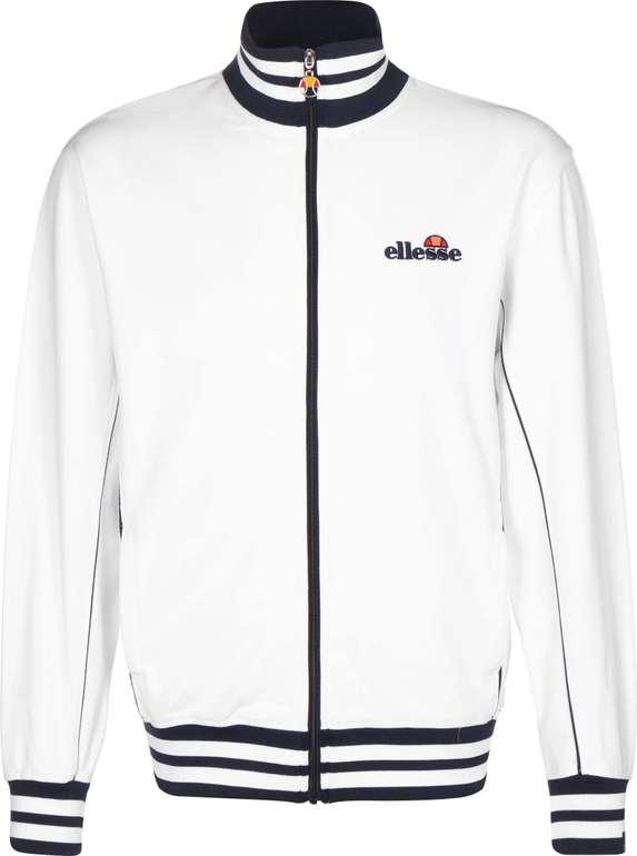 """Ellesse Trainingsjacke """"Milano"""" in Weiß und Blau/Schwarz für 41,94€ inkl. Versand (statt 56€)"""