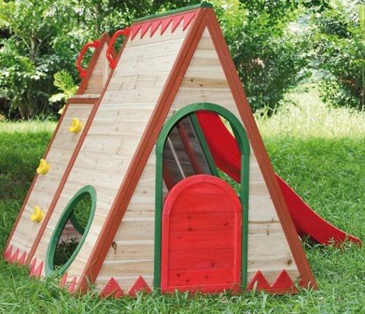 T & J Kinderspielhaus Tini (mit Rutsche) für 318,77€ inkl. Versand (statt 400€)