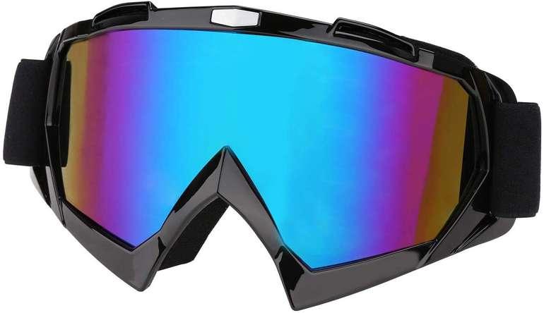 Wolketon Skibrille mit UV-Schutz & Antibeschlag für 11,89€ inkl. VSK