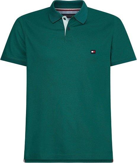 Tommy Hilfiger 1985 Contrast Placket Slim Poloshirt (2 Farben, S bis 3XL) ab 54,39€ (statt 65€)
