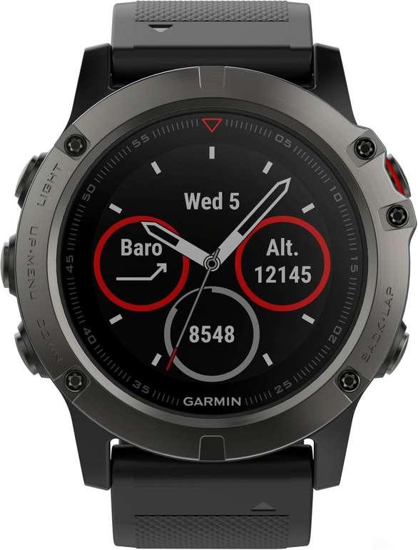 Garmin Fenix 5X Saphir Smartwatch für 355,90€ inkl. Versand (statt 390€)