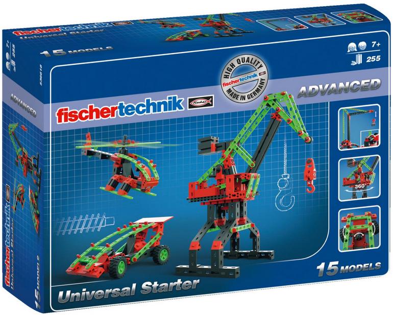Fischertechnik 536618 Advanced Universal Starter für 24,99€ (statt 31€)
