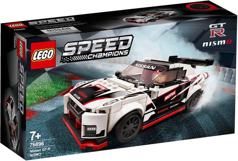 Lego Speed Champions (76896) Nissan GT-R nismo für 16,99€ inkl. Versand (statt 21€)