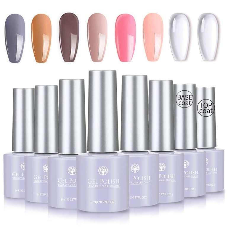8er Pack Skymore UV Farbgel Nagellack Set ab 7,69€ inkl. Prime Versand (statt 13€)