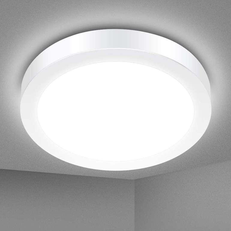 Solmore LED Deckenleuchte (18 Watt, 1700 Lumen, 5000K, IP54) für 11,99€ inkl. Prime Versand (statt 20€)