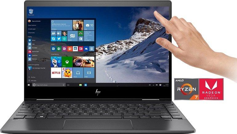 10% Rabatt auf ausgewählte Multimedia bei Otto, z.B. HP ENVY x360 13-ar0212ng Convertible Notebook für 905,50€