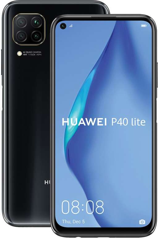 Huawei P40 lite + Freebuds 3 inkl. mobilcom-debitel o2 Free Unlimited Tarif (10 Mbit/s) für 29,99€ mtl.