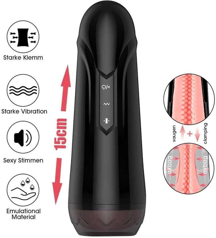 Urnight - Elektrischer Cup Masturbator mit 7 Vibrationsmodi für 26,99€ inkl. Versand (statt 44€)