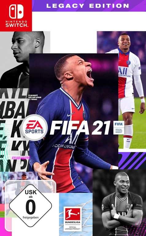 Prime Days: Fifa21 - Legacy Edition für die Nintendo Switch für 19,99€ inkl. Prime Versand (statt 23€)