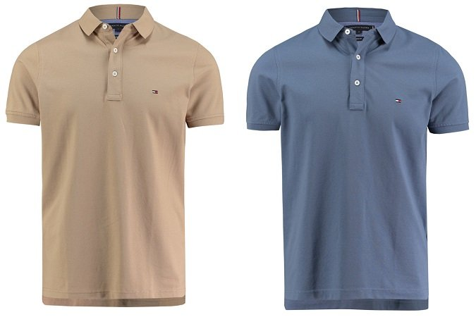Doppelpack Tommy Hilfiger Herren Poloshirts in Slim Fit für 74,84€ inkl. VSK