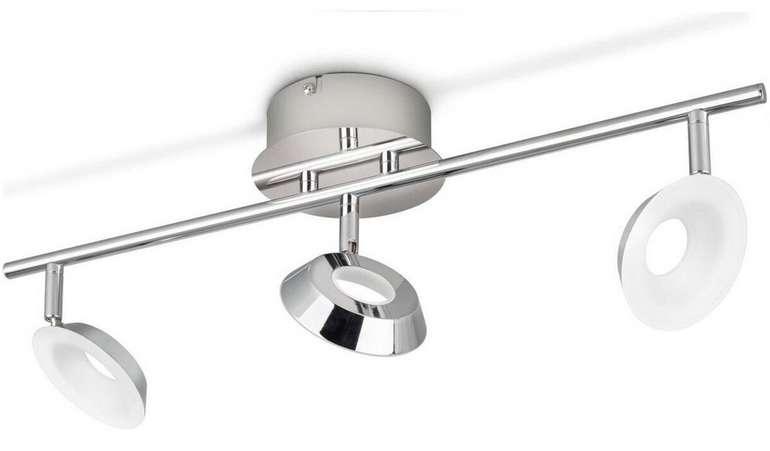 Philips Mackinaw LED-Spots mit 3x 5 Watt für 25,90€ inkl. Versand (statt 42€)