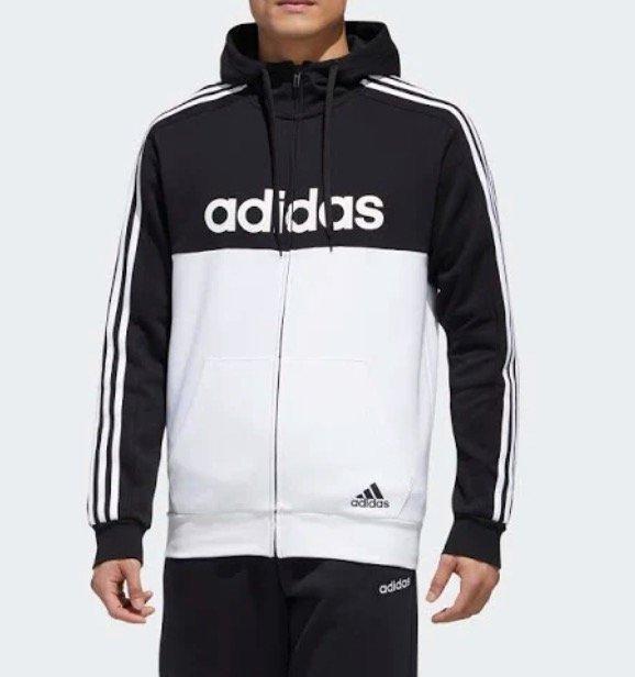 Adidas Essentials Colorblock Hooded Trainingsjacke für 44,71€ inkl. Versand (statt 51€)