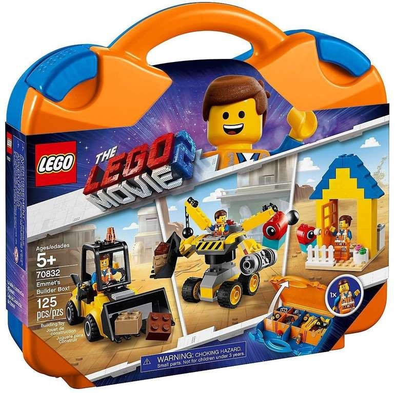 LEGO The Movie 2 - Emmets Baukoffer (70832) für 19,99€ Filialabholung (statt 30€)