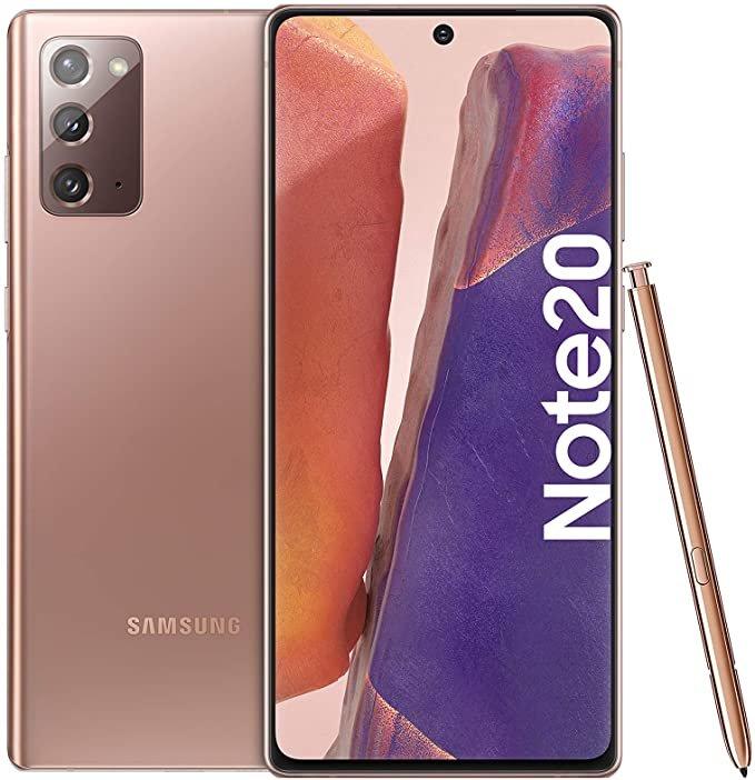 Samsung Galaxy Note20 (20€) + Vodafone green LTE special (D2-Netz, 10 GB LTE, All-Net Flat) für 24,99€ mtl.