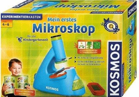 """Kosmos Kinder-Mikroskop """"Mein erstes Mikroskop"""" für 13,94€ inkl. Versand (statt 26€)"""