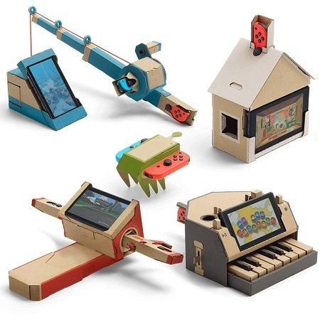 Nintendo Labo: Toy-Con 01 Multi-Kit für 36€ inkl. VSK (statt 47,30€)