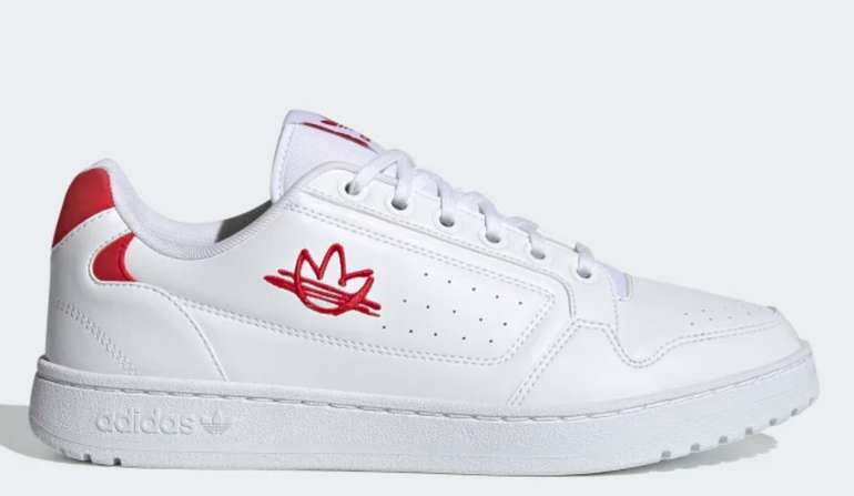 adidas: verschiedene NY 90 Schuhe für Kids und Herren - z.B Herren NY 90 Schuh in weiß/rot für 40,80€ inkl. Versand
