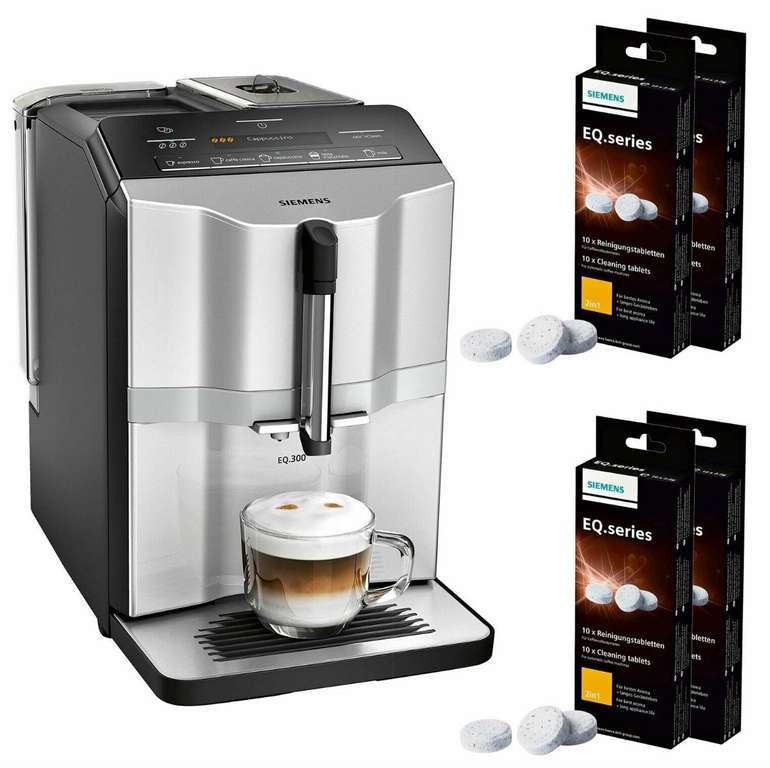"""Siemens """"TI353501DE EQ.300"""" Kaffeevollautomat inkl. Reinigungsset für 341,91€ (statt 410€)"""