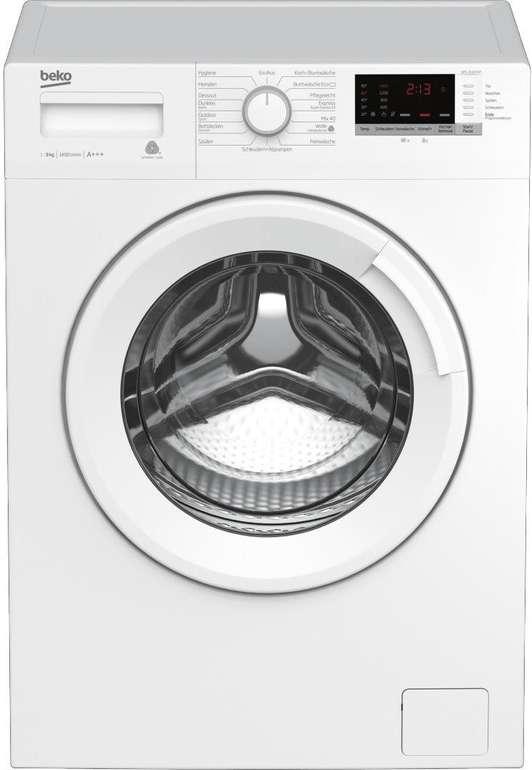 Beko Waschmaschine WML 91433 (A+++, 9kg) für 299,99€ inkl. Versand (statt 349€)