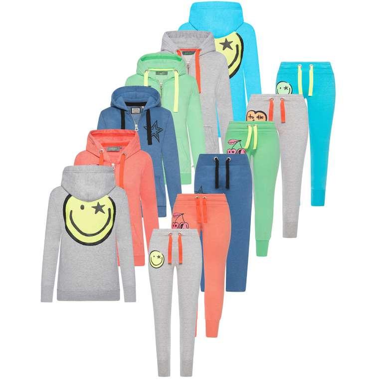 Four ti Four Kinder- & Damen Zip Jacke + Jogginghose (XS - L) für je nur 9,95€ (statt 17€)