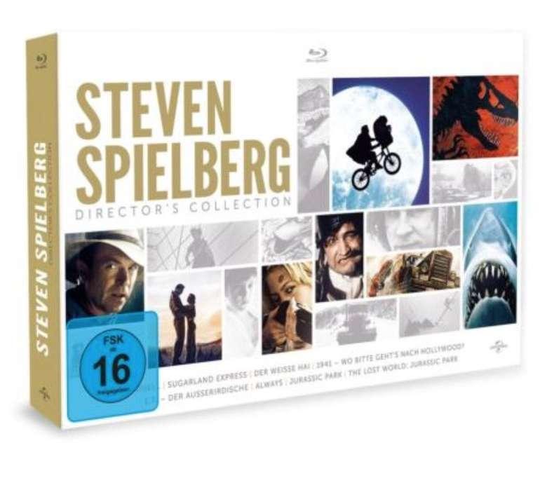 Steven Spielberg Director's Collection [Blu-ray] für 21,99€ inkl. Versand (statt 40€)