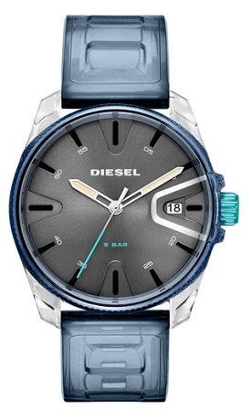 Diesel Herrenuhr DZ1868 mit leicht transparentem PU-Armband für 89,40€ inkl. VSK