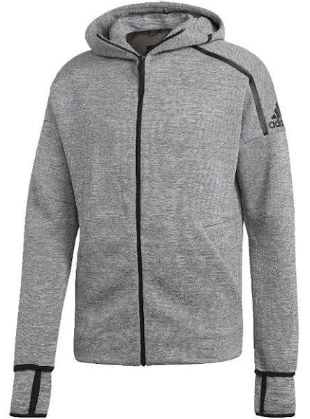 Adidas Performance Trainingsjacke in grau für 59,92€ inkl. Versand (statt 68€)