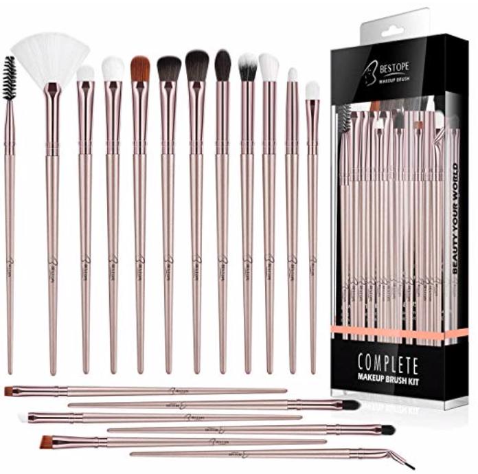 Beauty-Schnäppchen: 18er Pack Bestope Augenpinsel für 4,95€ inkl. Prime Versand