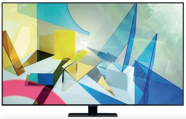 "Samsung GQ65Q82T - 65"" UHD 4K QLED Smart-TV (120Hz, FreeSync, VRR, 2x Triple Tuner, Tizen) für 1.111€"