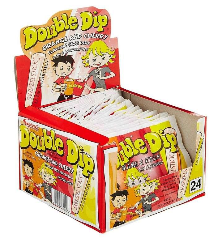 24er Pack Dok Double Dip Schleckpulver (je 18g) für 5,99€ mit Prime (statt 11€)