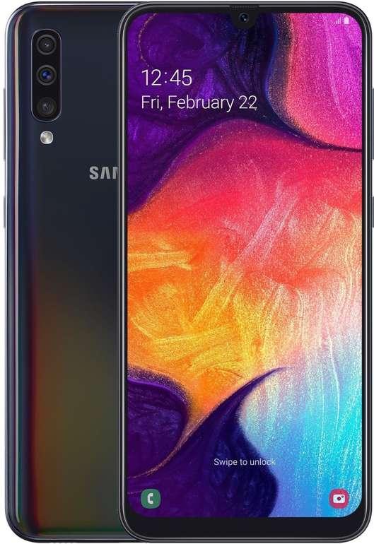 """Samsung Galaxy A50 - 6,4"""" Dual-SIM Smartphone mit 128GB Speicher für 229€ inkl. Versand"""