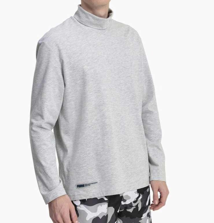 Puma Herren Langarm Shirt in grau für 15,93€ inkl. Versand (statt 25€)