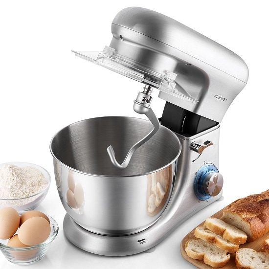 Albohes 4.5L Küchenmaschine mit Edelstahl-Schüssel für 106,19€ inkl. VSK