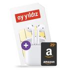 Apple Airpods + Ay Yildiz Allnet-Flat mit 4,5GB LTE (o2-Netz) für 14,99€ mtl.