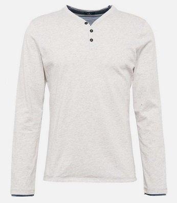 Tom Tailor Langarmshirt in Layer-Optik für 10,71€ inkl. VSK (statt 22€)