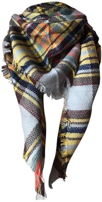 Momoxi karierter Schal mit Fransen in verschiedenen Farben für 4,20€ inkl. Versand (statt 14€)