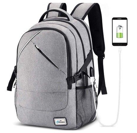 """Fresion 15,6"""" Notebook Rucksack mit USB-Ladeanschluss & 25 L Volumen für 21,83€"""