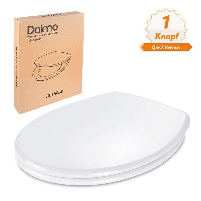Dalmo Toilettensitz mit Absenkautomatik & Quick Release (O-Form, Duroplast) für 22,99€ inkl. Versand