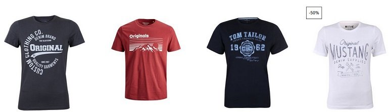 Jeans-Direct 4 T-Shirts