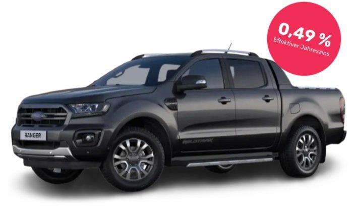 Privatleasing: Ford Ranger 2,0 EcoB Doppelk. 4x4 Wildtrak mit 212 PS für 189€ mtl. - LF: 0,45