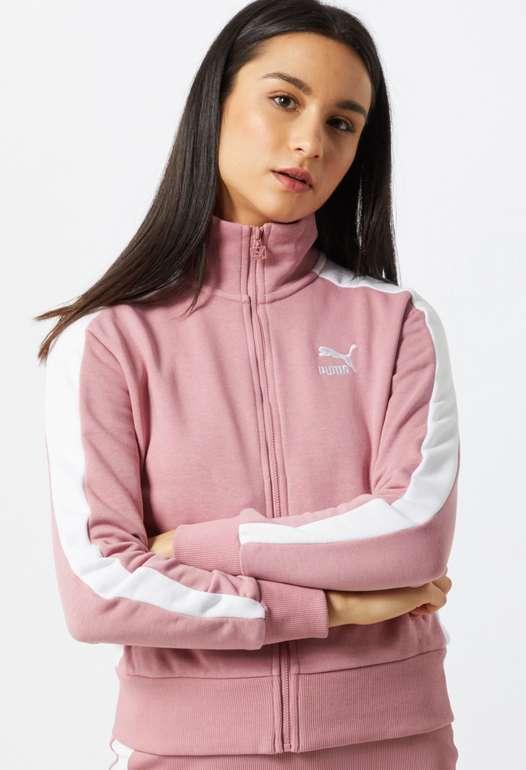 Puma Classics T7 Damen Trainingsjacke in Rosa für 26,96€ inkl. Versand (statt 30€)