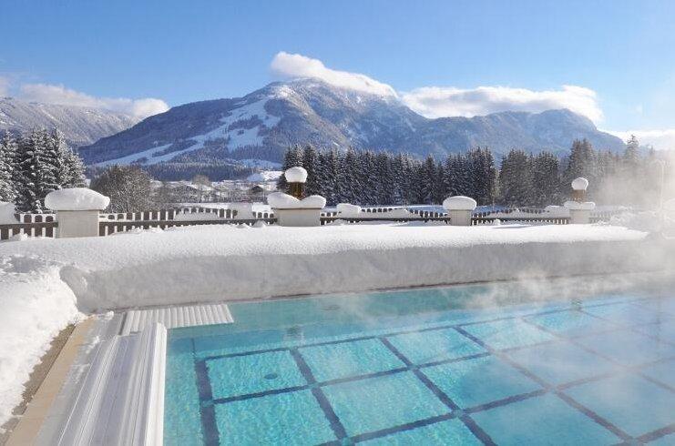 Tirol: 2 ÜN/F im 4*S Hotel Alpina Kössen inkl. Dinner & Wellness ab 179€ p.P.