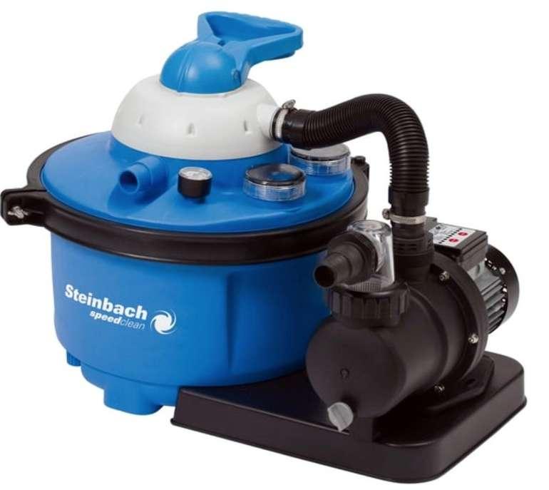 Steinbach Speed Clean Comfort 50 Sandfilteranlage (Umwälzleistung 6,6 m³/h) für 148,99€ (statt 169€)