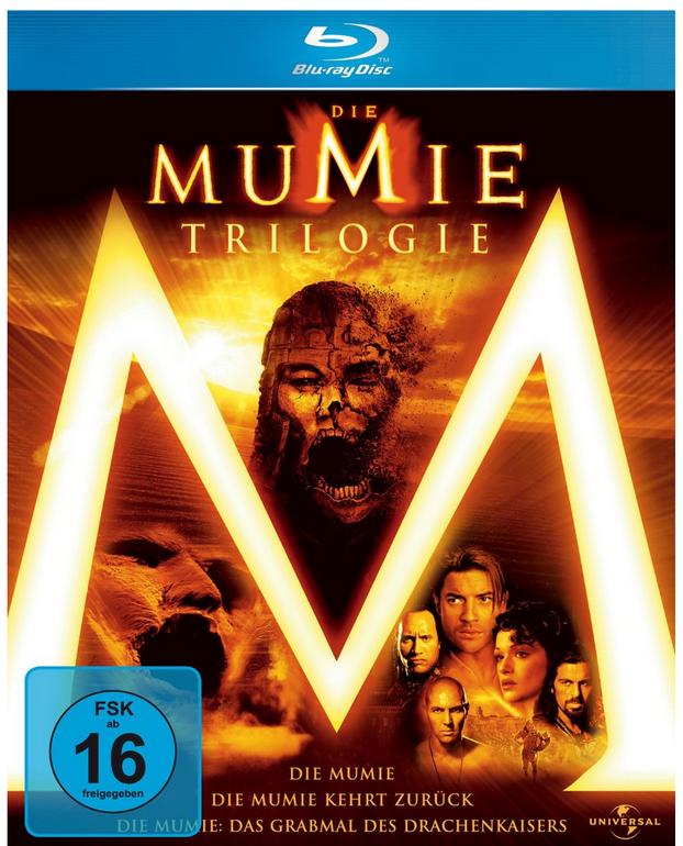 Die Mumie - Trilogie auf Blu-ray nur 6,11€ inkl. Versand (statt 15€)