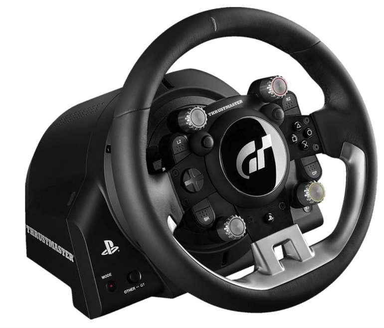 Thrustmaster T-GT Lenkrad inklusive 3-Pedalset (Force Feedback, PS4 / PC) für 404€ inkl. Versand (statt 554€)