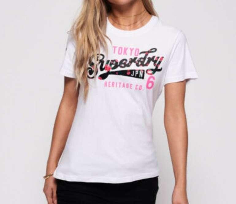 20% Extra Rabatt auf über 8.500 Superdry Artikel bei eBay - z.B. Damen T-Shirt für 15,59€ (statt 20€)