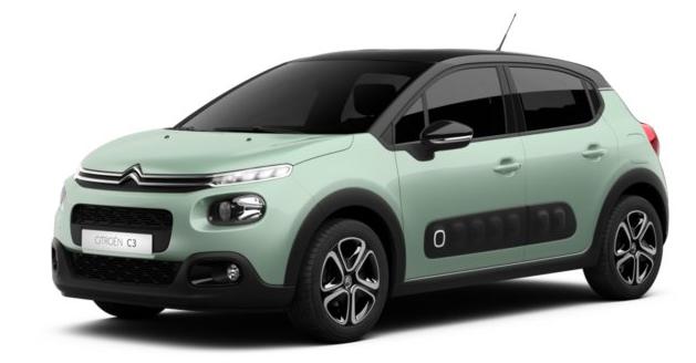 Gewerbe Leasing: Citroën C3 Pure Tech 82 Shine für 61,05€ mtl. (LF: 0,36)